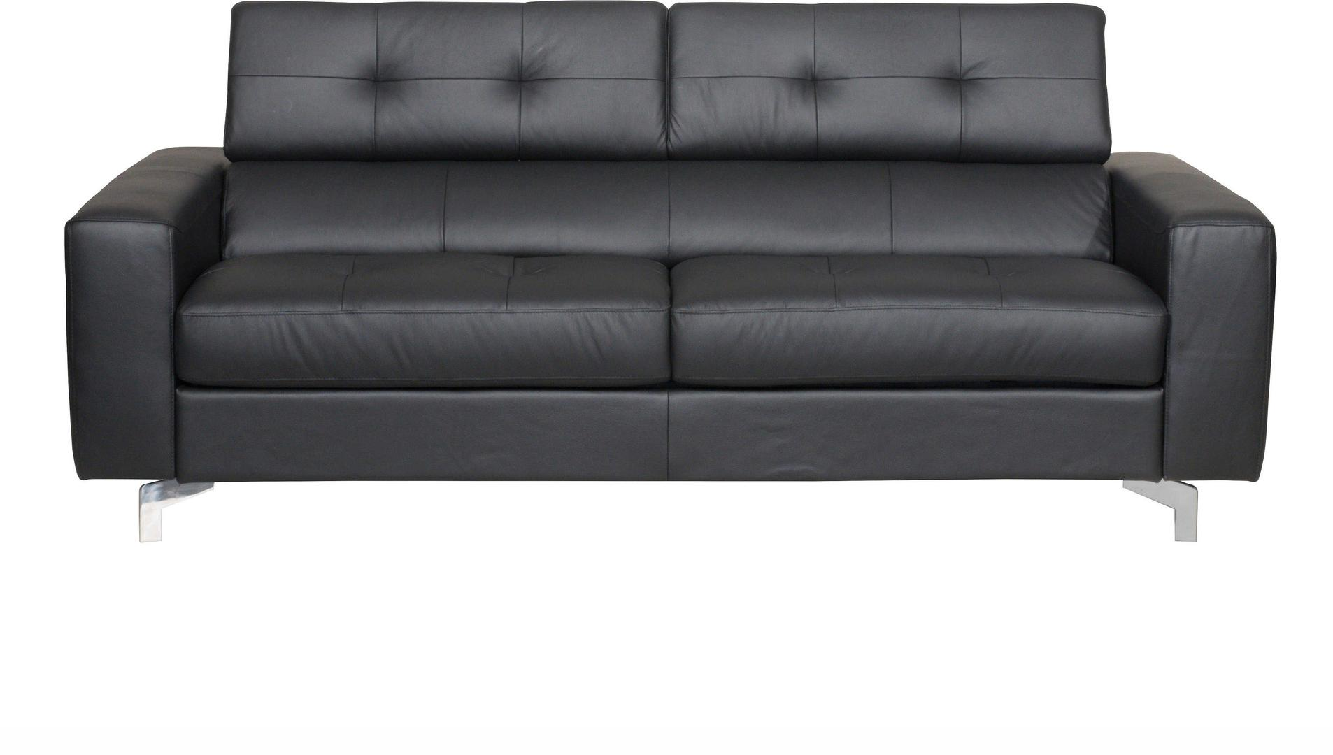 Cool Acme Tevere Sofa With Sleeper In Black Leather Finish 54228 Dailytribune Chair Design For Home Dailytribuneorg