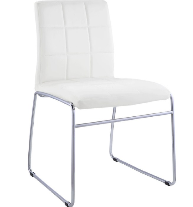 Image is loading Acme-Set-of-2-Gordie-Side-Chair-in-