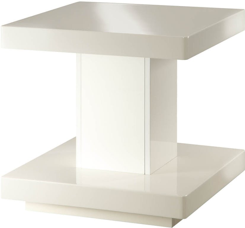 d471865ed333 Image is loading Acme-Imena-End-Table-in-White-Finish-80729