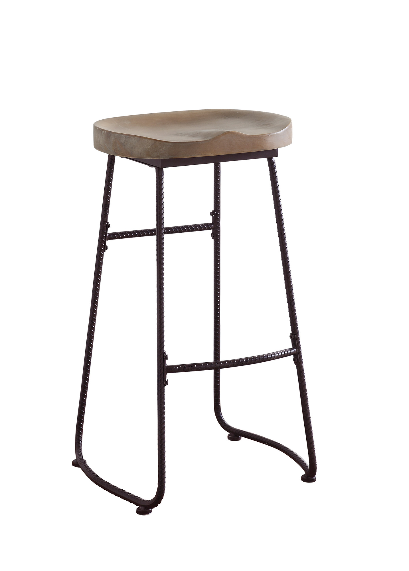 Groovy Details About Coaster Metal And Wood Bar Stool 101086 Gmtry Best Dining Table And Chair Ideas Images Gmtryco