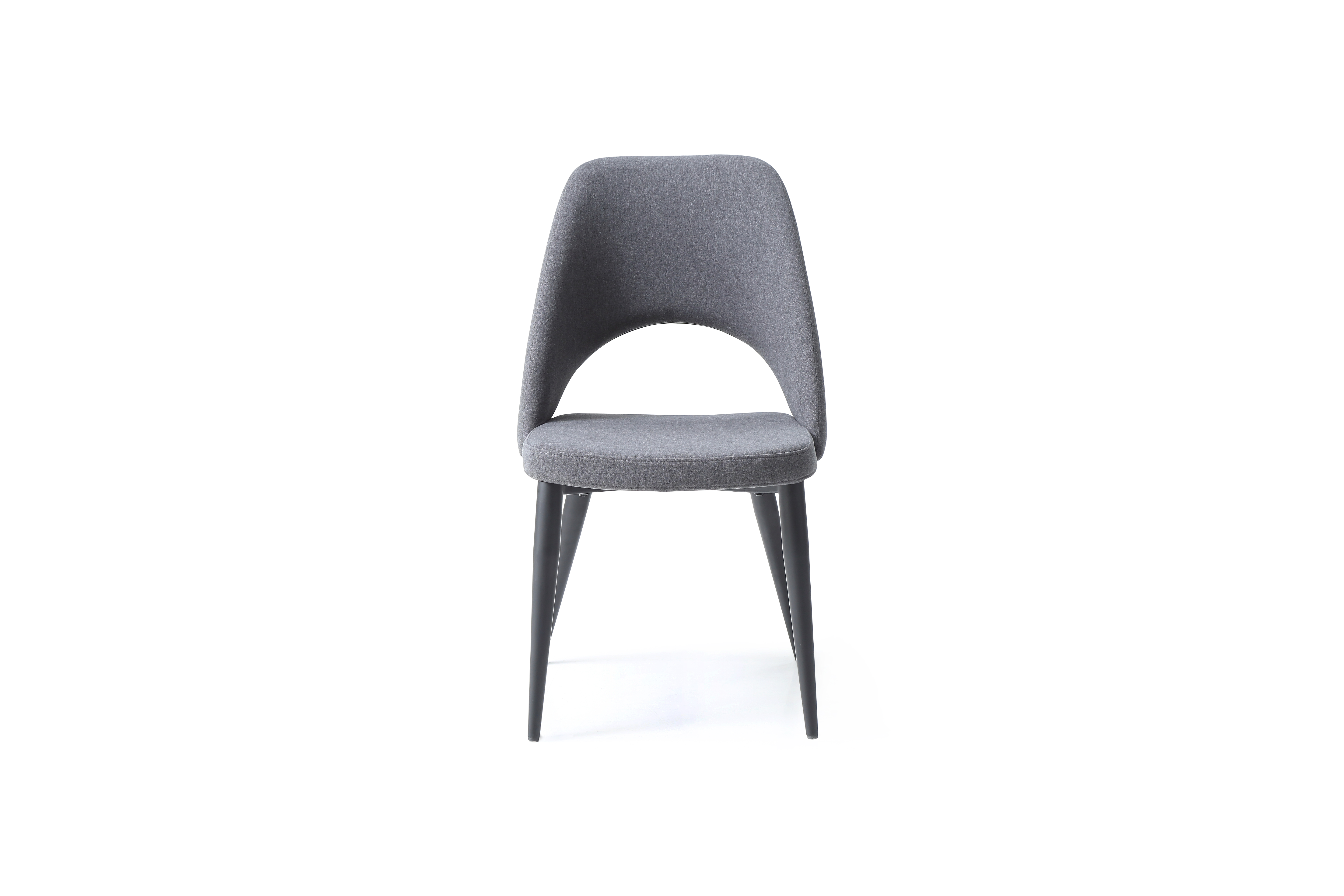 whiteline audrey set of 2 dining chair in blue navy dc1473-nvy